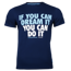 Koszulka Trec Nutrition MEN'S TREC WEAR - IF YOU CAN - T-SHIRT 036/NAVY