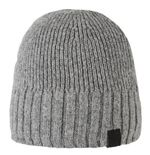CZAPKA BARTS AARON BEANIE dark heather 184019