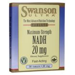 Suplement diety Swanson NADH 20 mg 30 tabletek