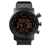 Zegarek outdoroowy Suunto Elementum Terra Black/Red Leather